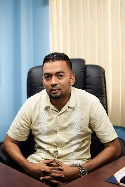 Director of Projects, Omar Narine