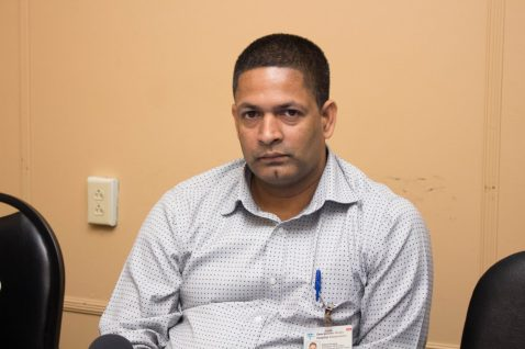 Dr. Kishore Persaud, the transplant Surgeon who conducted the procedure.