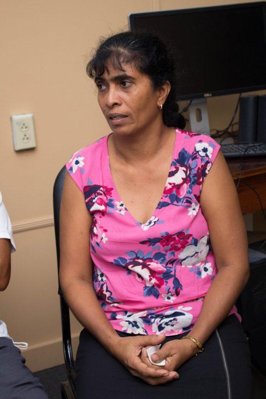 Kumarie Budhoo, kidney donor to Ravi Naraine and wife of Freddie Budhoo.