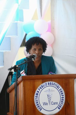 Director of Medical Education (ag) at the GPHC, Dr. Alexandra Harvey