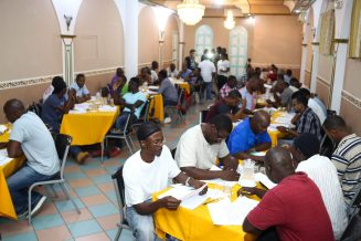 Guyanese participating in the two-day training