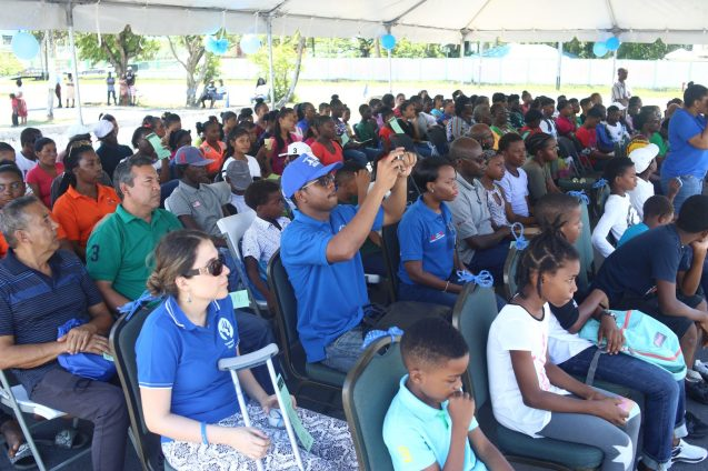 Those gathered at the launch of the 'Freedom Fest' at the Durban park