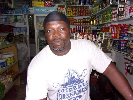 Resident and Councillor of New Amsterdam Municipality Eusi Smith