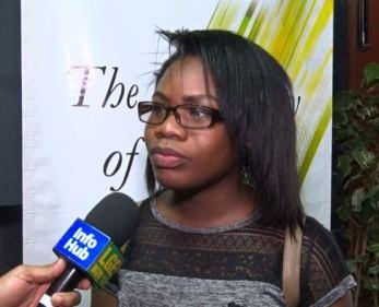 New Communication Major student, Tanisha Cole.