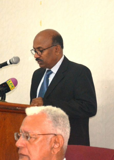 Counsellor, High Commission of India, Mr. Vijaykumar Kizhapate