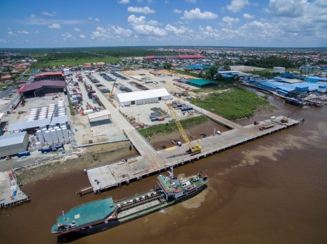 GYSBI plans to add a third berth at its wharf