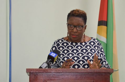 Chair of Guyana Lands and Surveys Commission's (GLSC) Board of Directors, Paulette Henry