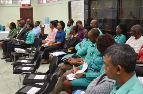 Stakeholders at the inception workshop