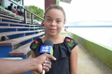 Ayesha King, Student.
