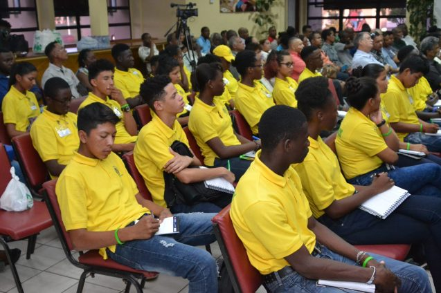 Youth in Natural Resources present at the lecture