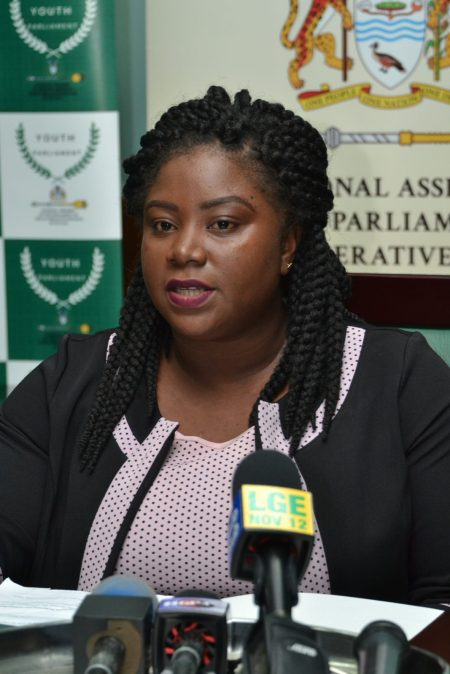 Parliamentary Executive Assistant, Carlleta Charles