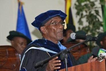 Registrar at the University of Guyana, Dr. Nigel Gravesande.
