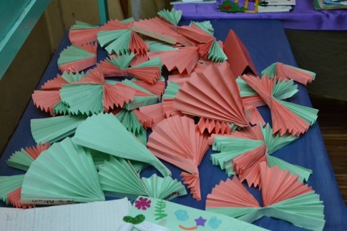 Some of the craftwork done by the children