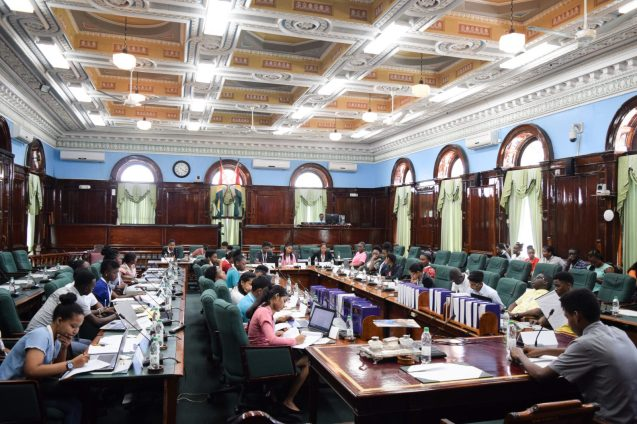 Youth Parliament grand rehearsal