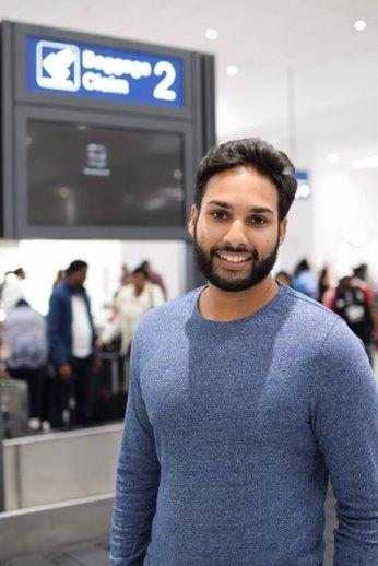 Ryan Mohammed, frequent traveller.