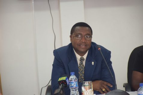 Permanent Secretary of Minister of Public Service, Reginal Brotherson