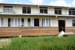 Rehabilitation works ongoing at the Cummings Lodge Secondary
