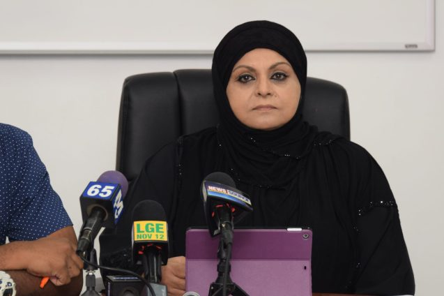 Chairperson of the Rights of the Child Commission, Aleema Nasir