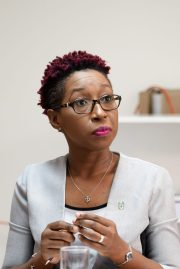 Head of Office of Climate Change, Janelle Christian