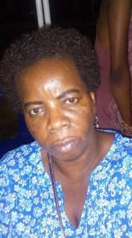 Leguan resident, Carol Ferguson