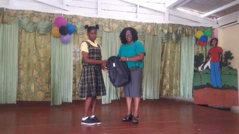 Keifa Morrison earned 470 marks