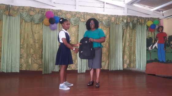 Larhonda Campbell earned 457 marks