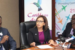 Caribbean Airlines' Head of Marketing, Alicia Cabrerea