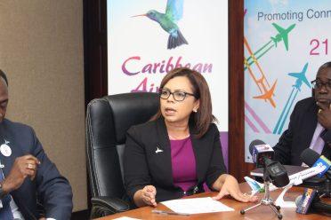 Caribbean Airlines' Head of Marketing, Alicia Cabrerea