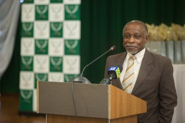 Minister of Foreign Affairs, Carl Greenidge
