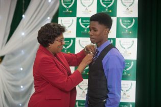 Youth Prime Minister for Secondary School Jordan Kelman