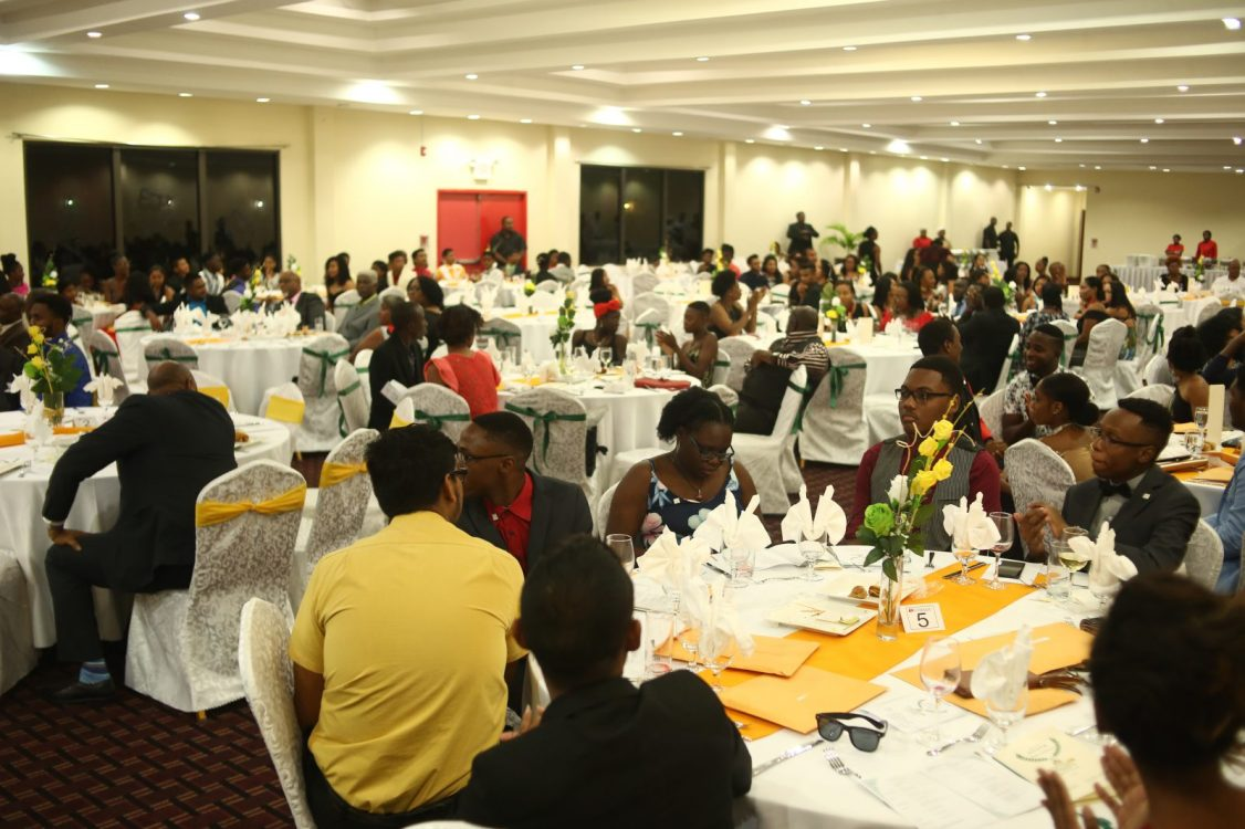Some of the 2018 Youth Parliamentarians at the Princess hotel last evening