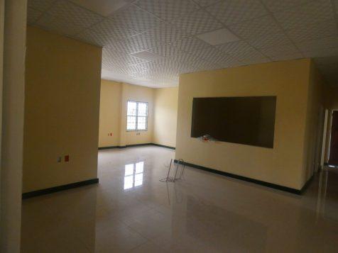 Interior of Linden's spanking new passport office