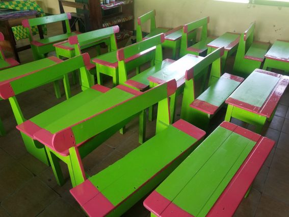 Student-friendly classroom at Greenwich Park Primary School
