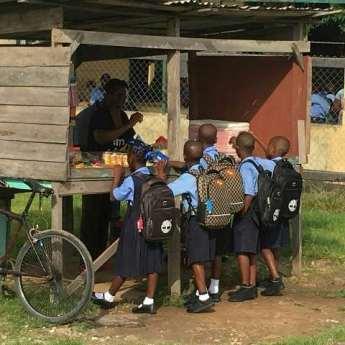 Students of the Kildonden Primary School.
