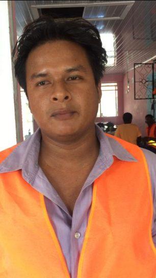 Chavera Calistro Caption: Participant of the programme, Chavera Calistro.