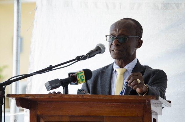 PAHO/WHO Representative, Dr. William Adu-Krow.