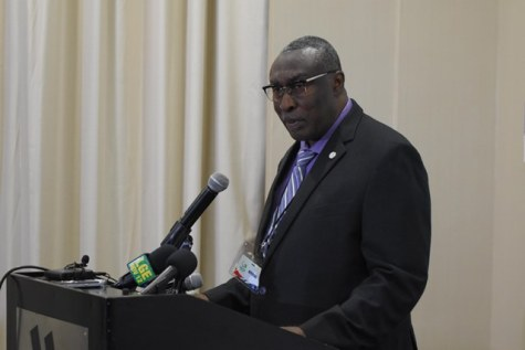 Chairman of the Private Sector Commission, Desmond Sears.