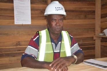 Clerk of Works, Ministry of Public Infrastructure, Elroy Haynes.