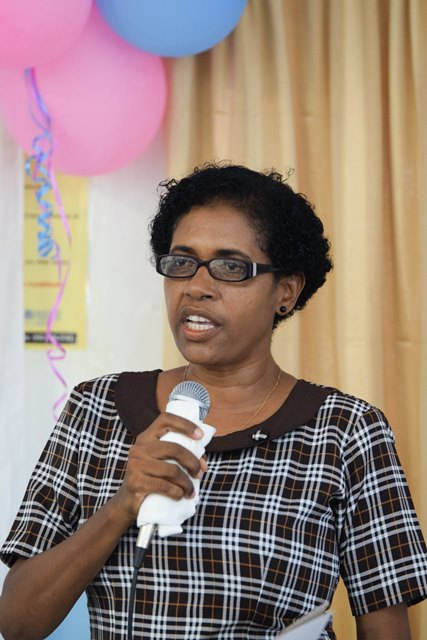 Chief Nursing Officer (CNO) of the Ministry of Public Health, Linda Johnson.