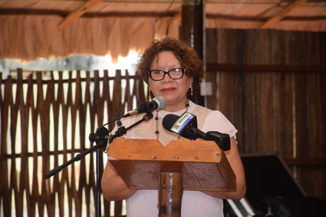 Ministry of Indigenous Peoples' Affairs, Valerie Garrido-Lowe.