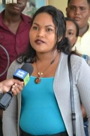 Melissa Peters, Mabaruma Sub-District, Region One.