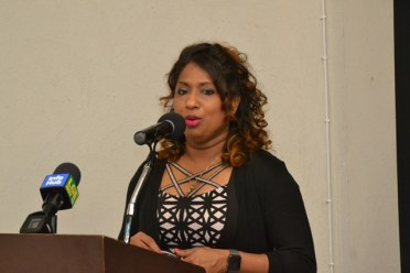 Head of the Tourism and Health Programme, CARPHA, Dr. Lisa Indar.