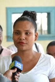 Malika Russell, Youth Advocate of Kwakwani, Region Ten.