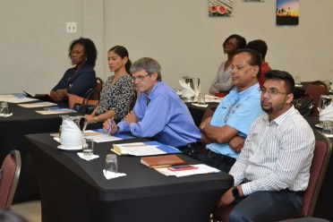 Some of the stakeholders in attendance at the meeting.