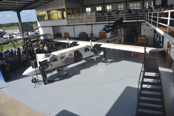 The new trislander aircraft