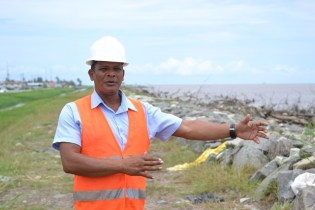 Project Coordinator at Ministry of Public Infrastructure, Dennis Ramsingh.