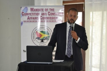 Chairman of the Commission, Ronald Burch-Smith.