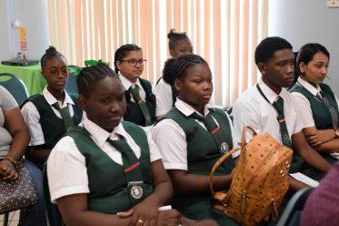 Children in attendance at the workshop