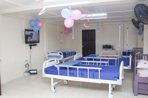 Inside the Maternity Waiting Home at the Indigenous Residence, Princess Street, Georgetown.