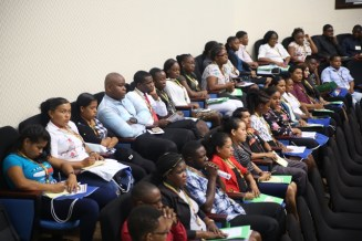 Participants of the Inaugural Youth Conference.